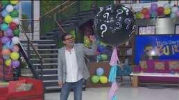 """Jorge """"El Burro"""" Van Rankin revela el sexo de su bebé en el programa """"Hoy"""""""