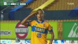 ¡Sella la victoria de Tigres! Stephany Mayor se escapa y pone el 2-0