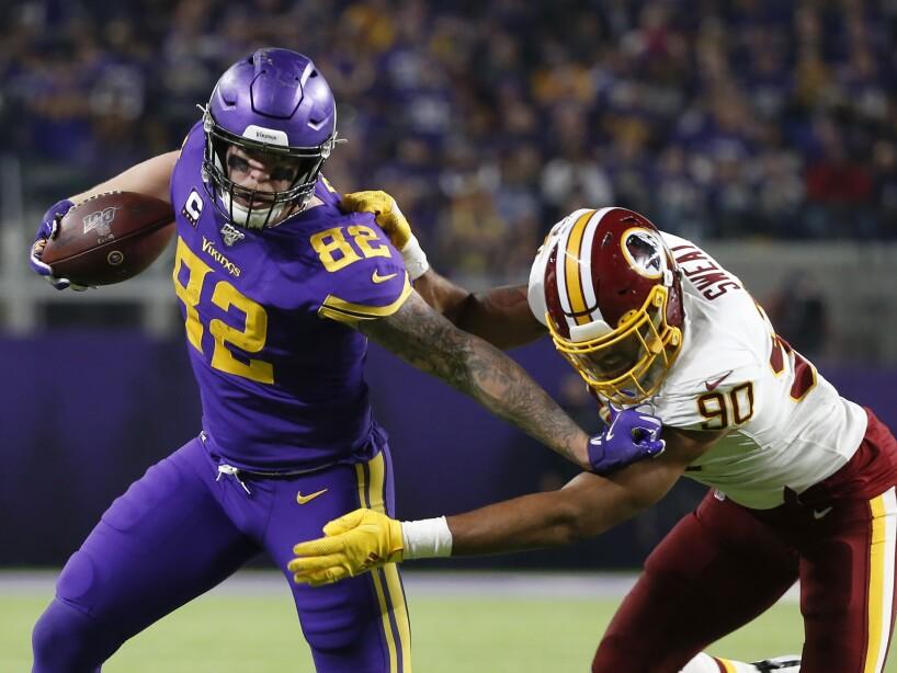 Washington Redskins 9-19 Minnesota Vikings