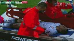 ¡Debut agridulce! Ibarra sale lesionado en su primer juego con Atlas