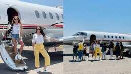 Camila Sodi y Geraldine Bazán demuestran ser 'súper mamás' y se van de vacaciones con 7 niños