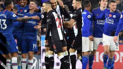 Todos los resultados del día de la jornada 12 de la Premier League.