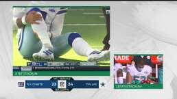 ¡Terrible imagen! Dak Prescott sufre grave lesión ante Giants