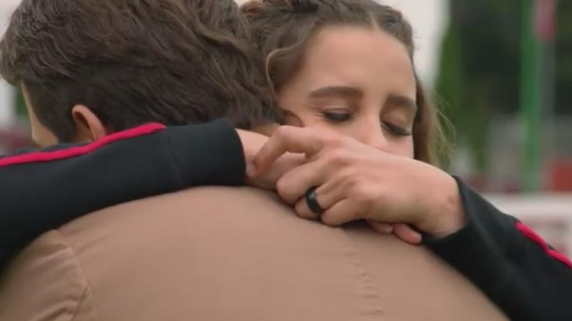 Victoria vuelve a ver a Andrés