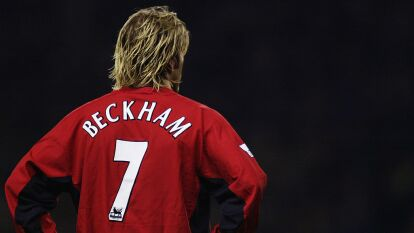 La maldición del número siete del Manchester United