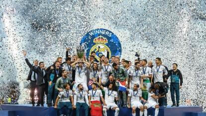Los merengues están de manteles largos y celebran 118 años de historia. | El máximo ganador de la UEFA Champions League levantando un título más tras derrotar a Liverpool en la final de 2018.