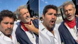 Eduardo Verástegui y Mel Gibson hacen épico dueto al ritmo de 'México Lindo y Querido'