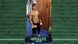 Así se prepara Óscar Valdez para el 'Alacrán'