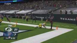 Watson y los Texans despiertan y anotan ante los Packers