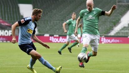 Empate sin goles entre el Werder Bremen y el Borussia Monchengladbach que contó con un Sommer que tapó todo.