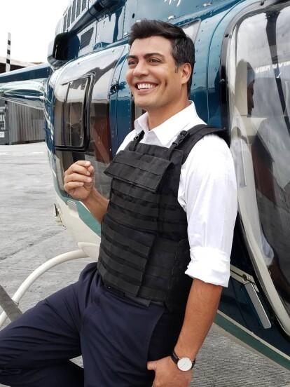 Andrés Palacios nació en Santiago, Chile, el 13 de mayo de 1975, pero desde muy pequeño se mudó a México.