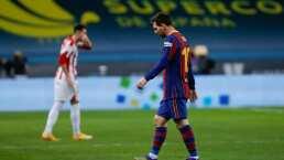 ¡Messi out! El Barça puede perder al 10 hasta por cuatro juegos