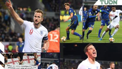 Kosovo es derrotado por Inglaterra 4-0 y es así como los ingleses obtienen su pase a la Euro 2020 como líder de grupo. Los goles fueron anotados por Winks, Kane, Rashford y Mount. Inglaterra se lleva siete victorias y una derrota.