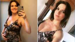 Zoraida Gómez se distrae del confinamiento con unas cortas vacaciones en su recta final de embarazo