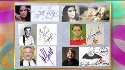 Las firmas de los famosos