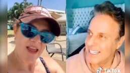 Alexis Ayala supo responderle a Erika Buenfil y los nombran como 'el dúo perfecto'