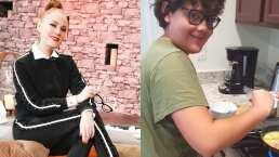 El hijo de Daniela Magun se convierte en su cocinero personal