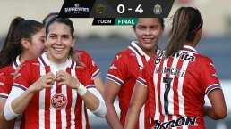 Chivas y Cervantes brillan en goleada ante FC Juárez