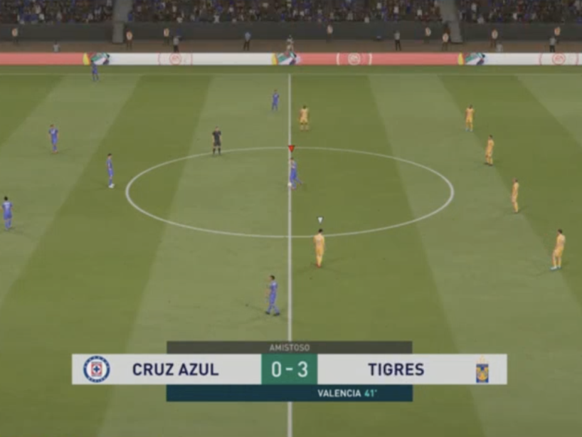 eLiga MX, Cruz Azul vs Tigres, 13.png