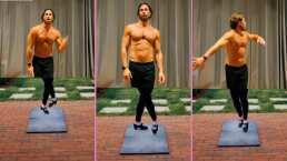 """""""Perfeccionando mi baile"""": Sebastián Rulli impacta con sus impresionantes pasos de tap"""