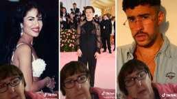 Abuelita se vuelve viral al confundir a Harry Styles con Leonardo DiCaprio y a Bad Bunny con Kalimba