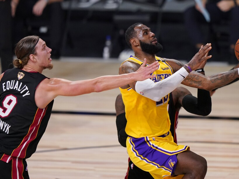 NBA Finals Heat Lakers Basketball