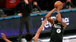 Kevin Durant aporta un doble-doble en triunfo de Nets