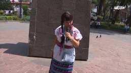 Olga Sana pone en apuros a entrevistados con sus preguntas