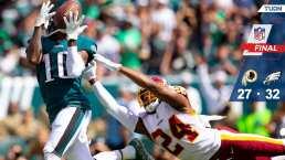 Philadelphia Eagles vencieron en voltereta a los Redskins
