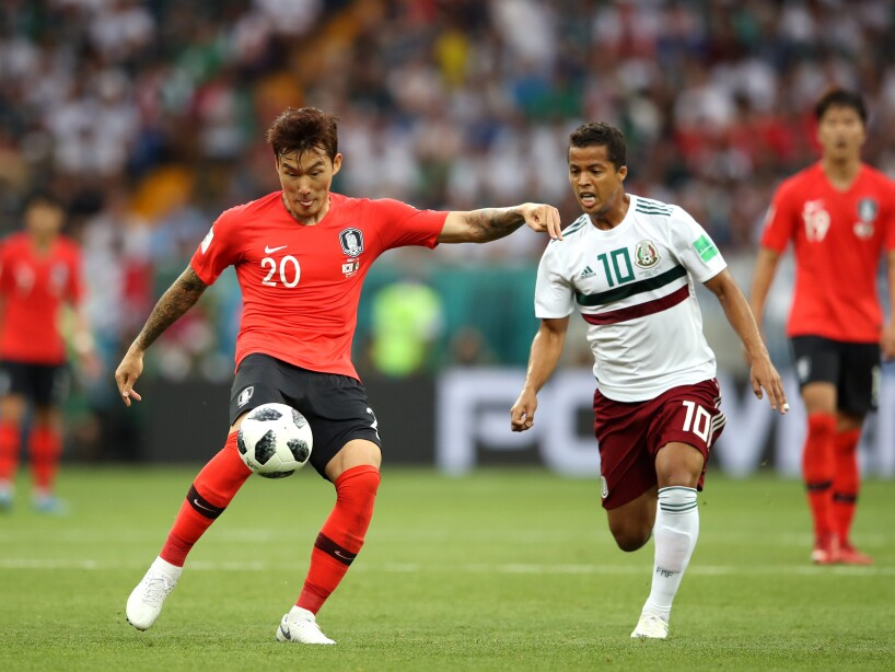 Korea Republic v Mexico: Group F - 2018 FIFA World Cup Russia