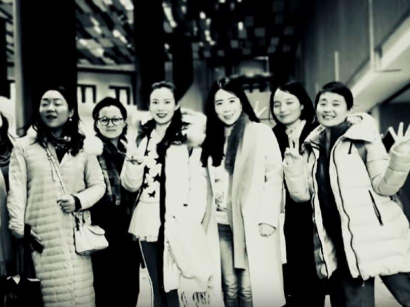 7 Amigas en China cumplen pacto de juventud: comprar casa y vivir juntas