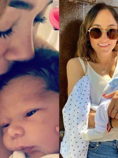 Tras presentar a su su hijo André, Sherlyn continúa consintiendo a sus seguidores con entrañables fotografías y videos del recién nacido, tal como lo hizo el pasado 7 de junio en sus redes sociales.