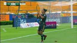 ¡Ni tiempo de festejar para Xolos! Stephany Mayor marca el 1-1