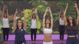 'Rutina de Hoy': Recibe el solsticio de verano con un ejercicio de yoga