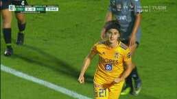 ¡Ya es goleada! Natalia Gómez Junco decreta el 3-0 de Tigres