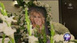 Magda Rodríguez recibió un mar de arreglos florales en su funeral
