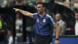 Scaloni sabía que el contragolpe era clave para ganarle a México