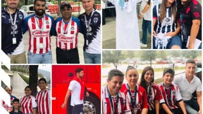 Las familias conviven y se divierten previo al Monterrey contra Chivas.