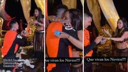 Jawy y Mane de 'Acapulco Shore' se comprometieron en la playa y así fue el emotivo momento