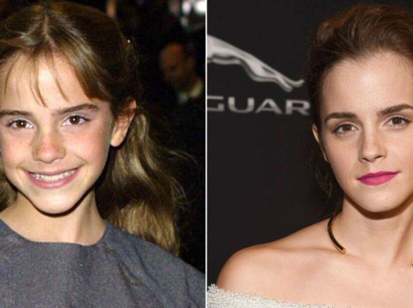 1. Emma Watson (26 años): La linda Hermione de Harry Potter es ahora toda una actriz, modelo y filántropa.