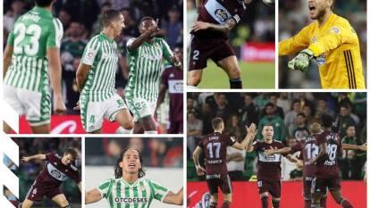 Betis vence al Celta 2-1 con goles de Emerson y Fekir; Iago Aspas descontó. Guardado y Lainez entraron de cambio.