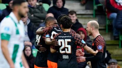 Con gol de Dumfries, el PSV vence 0-1 al Groningen y se queda en el cuarto puesto de la Eredivisie, con 49 puntos.
