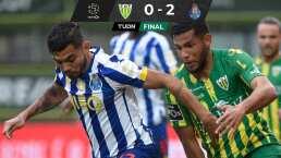 El Porto presiona al Sporting con victoria y Tecatito jugó 85 minutos