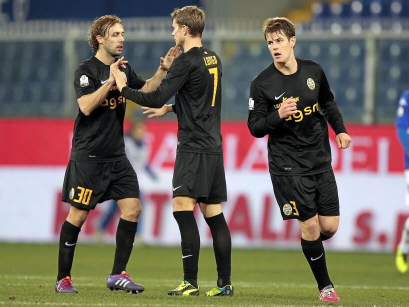 UC Sampdoria v Hellas Verona FC - Tim Cup
