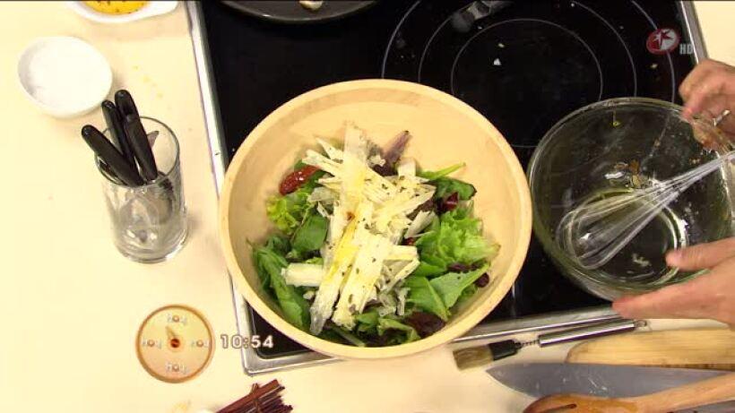 Cocina: Ensalada de espinacas