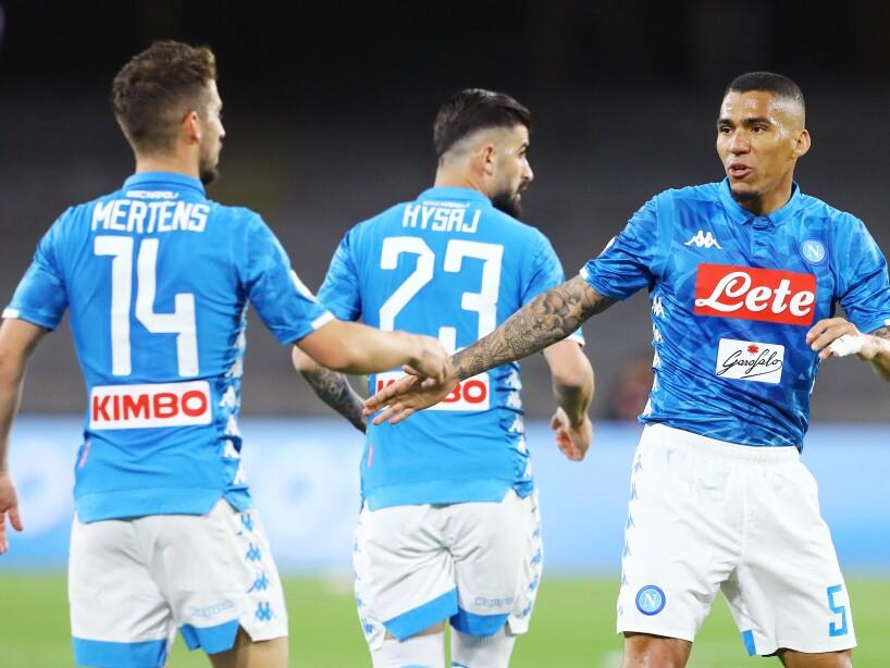 SSC Napoli v Cagliari - Serie A