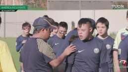 América, un club incluyente que también apoya a jóvenes con discapacidad