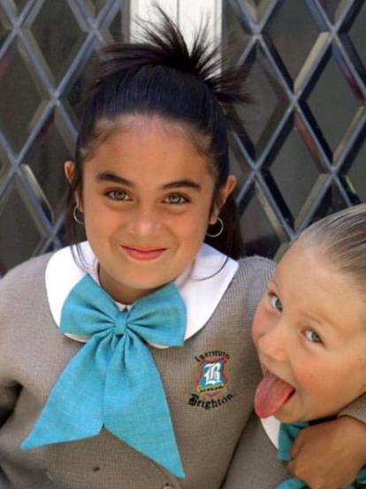 'María Belén' fue una telenovela infantil producida en 2001 por MaPat López y protagonizada por Danna Paola, Nora Salinas, Rene Lavan, Maya Mishalska, Harry Geithner, Yurem y Cristiane Aguinaga, entre otros.