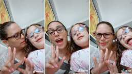 Aunque apenas tiene 8 años, la hija de Angélica Vale 'corea' canciones de los 90s