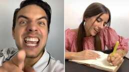 'Me vale': Vadhir Derbez y su novia, Diana Larume, recrean graciosa escena de 'La Familia P. Luche'